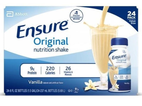 Ensure Vanilla Case Pack 24