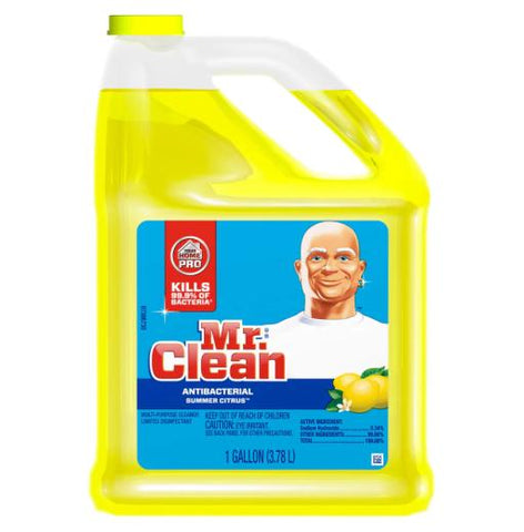 Mr. Clean Summer Citrus 128 oz Case Pack 4