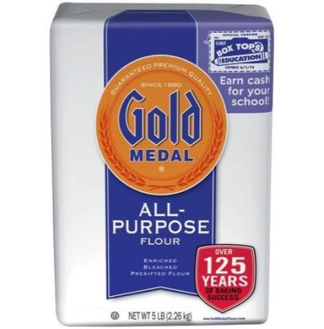 Gold's Flour 5 lb Case Pack 8
