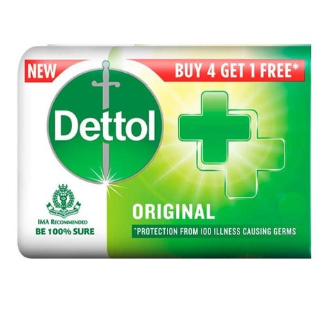 Dettol 4+1 Count Case Pack 30