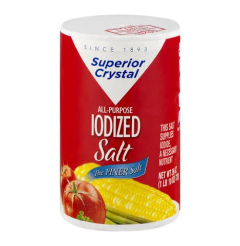 Superior Crystal Salt 26 oz Case Pack 24