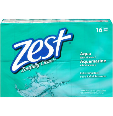Zest 16 Count Case Pack 4