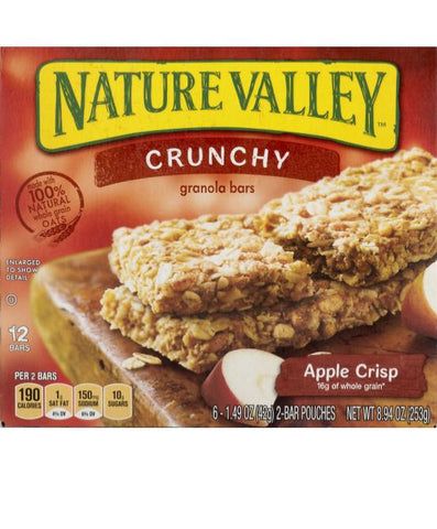 Natural Valley Crunchy Apple Crisp Pack Of 6
