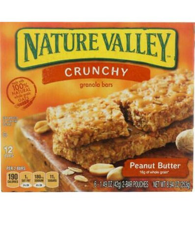Natural Valley Crunchy Peanut Butter Pack Of 6