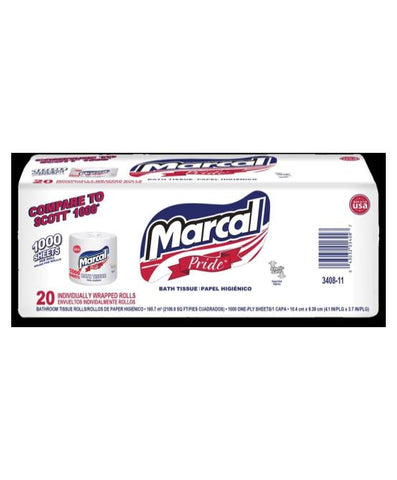 Marcal 1000 Sheets 20 Rolls