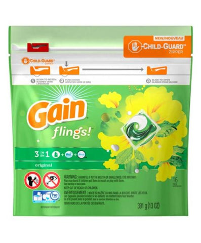 Gain Pods Original 16 Count Case Pack 12