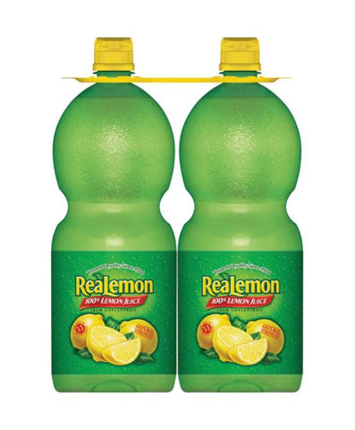 Realemon 2 Count 48 oz. Case Pack 4