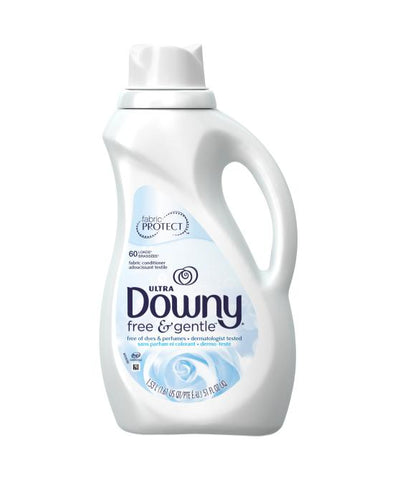 Downy Free Gentle 51 oz. Case Pack 8