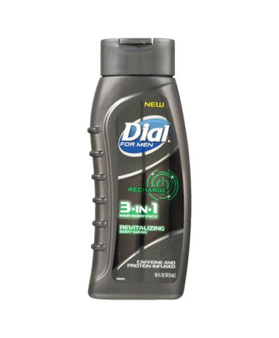 Dial Body Wash Men Recharge 16 oz. Case Pack 6