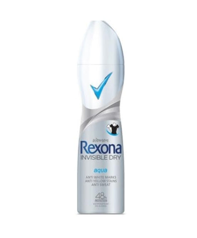 Rexona Women's Invisible Aqua 200 ml Case Pack 6