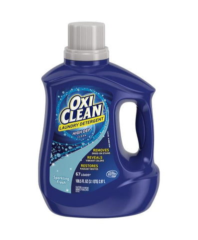 OXI Clean HE Fresh Scent 100.5 OZ Case Pack 4