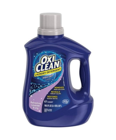 Oxi Clean HE Lavender & Lily 100.5 oz. Case Pack 4