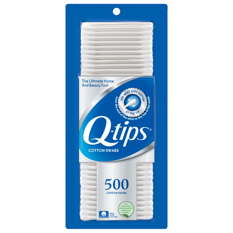 Q-Tips 500 Count Case Pack 12