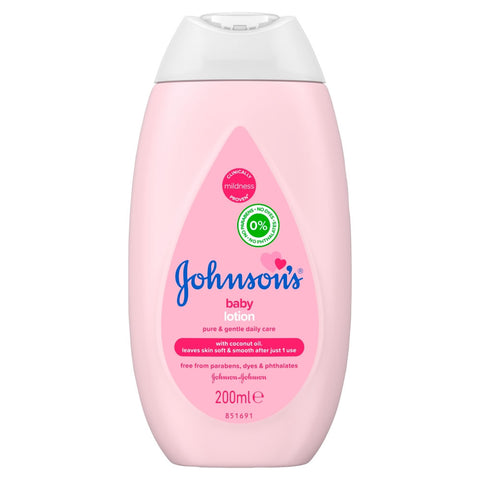 Johnson & Johnson Baby Lotion 200 ml Case Pack 24