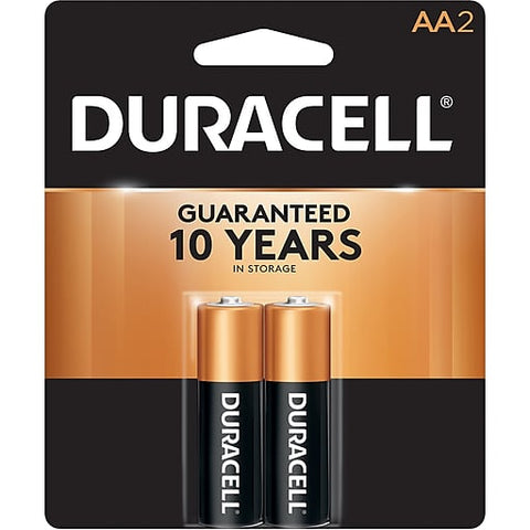 Duracell AA 2 Count Case Pack 56