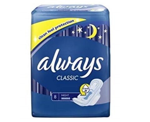 Always Classic 8 Count Case Pack 16
