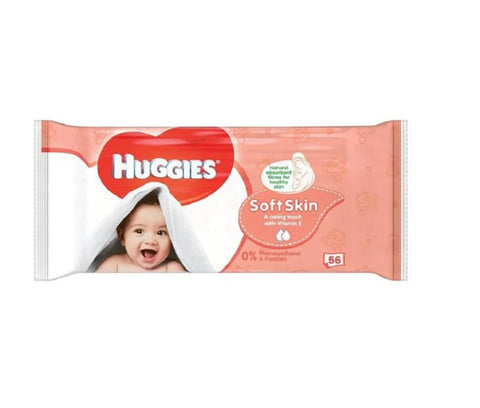 Huggies Wipes Soft 56 Count Case Pack 10