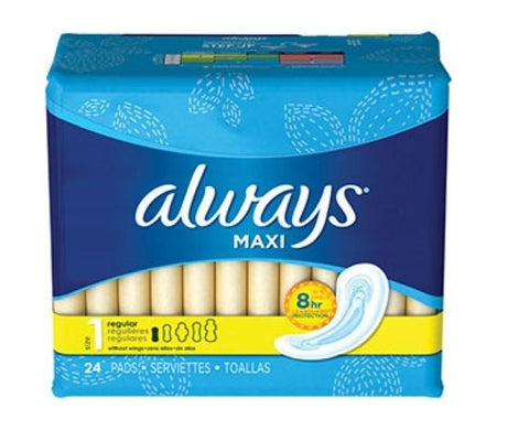 Always Maxi 24 Count Case Pack 12
