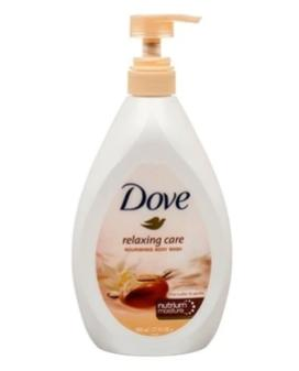Dove Shea Butter Body wash 800 ml Case Pack 12
