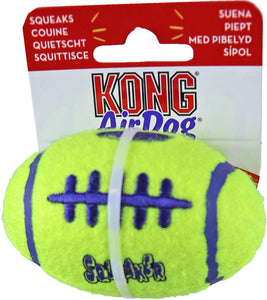 Kong hond Air Dog football met piep