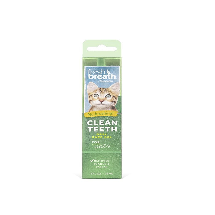 Tropiclean Fresh Breath ORAL CARE GEL anti-tandplak voor katten