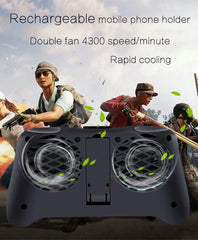 Magik™ Mobile cooling fan game pad rechargable