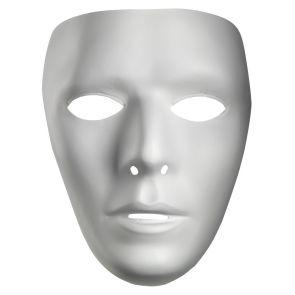Blank Male Adult Mask