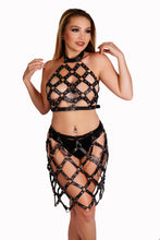 Load image into Gallery viewer, Leatherette Crisscross Halter