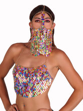 Load image into Gallery viewer, Sequin Chain Mail Veil in 5 Colors