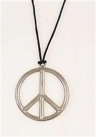 Peace Sign Pendant Metal