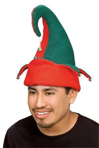 Felt Elf Hat w-Bells