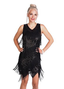 Dress Flapper Sequin Fringe