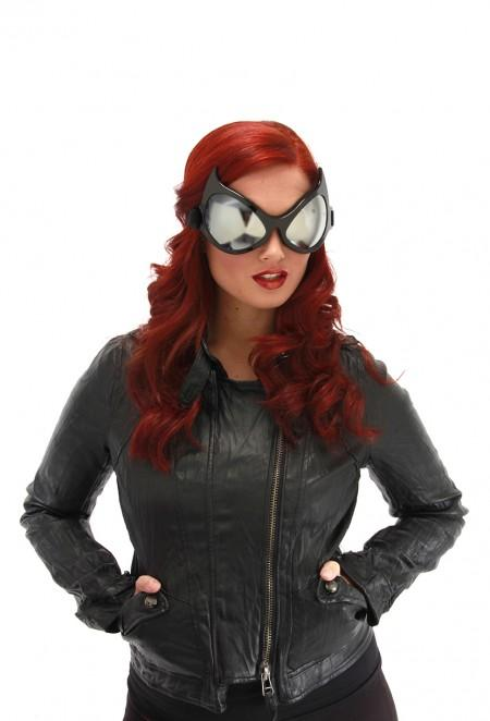 Goggles Cat Eye Black