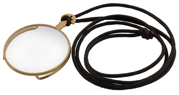 Monocle Gold Steampunk Clear