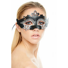 Load image into Gallery viewer, Mask w/ Rhinestone Eyebrow