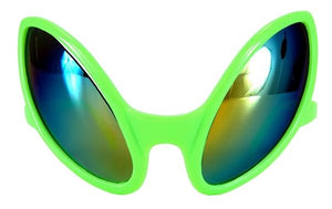Close Encounter Green-Prism Glasses