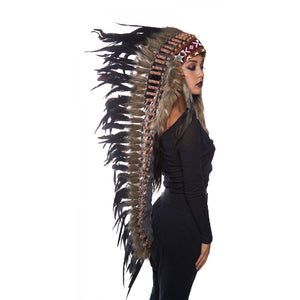 Headdress Multicolor Long