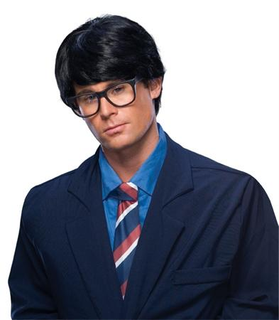 Mens Character Wig Black