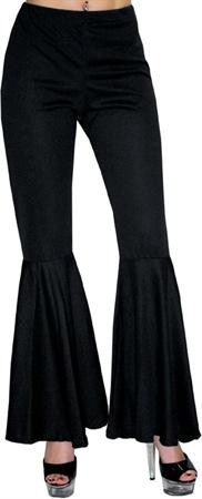 Hippie Bell Bottom Pants Black