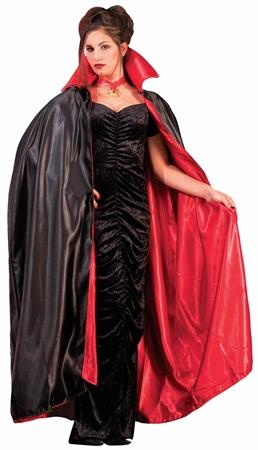 Reversible Vampire Cape Black/Red