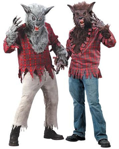 Werewolf Shirt, Mask, and Gloves