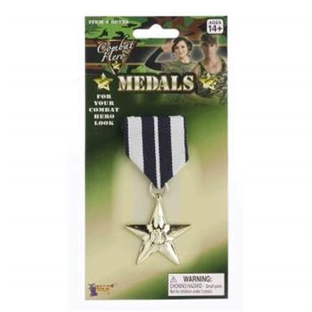 Military Medal Single Gold Star