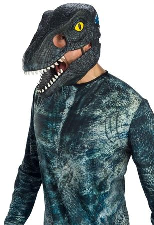 Velociraptor Blue Movable Jaw