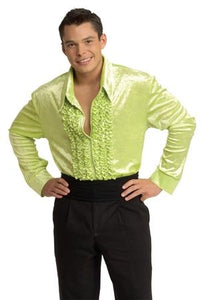 Velvet Disco Shirt Green