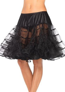 Petticoat Knee-Length Black