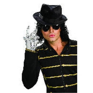 Michael Jackson Silver Sequin Glove Adult