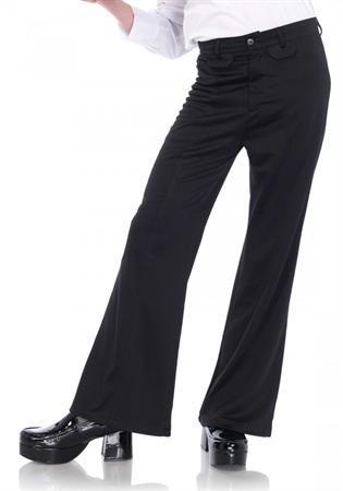 Bell Bottom Pants Black
