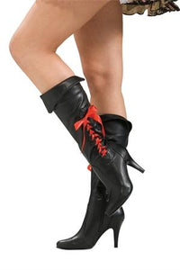 Boot Ladies Pirate Black
