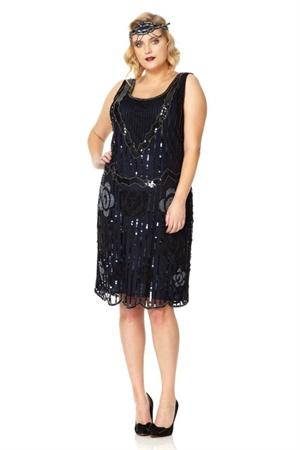 Flapper Black Navy