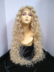 Delilah Long Curly Lace Front Wig